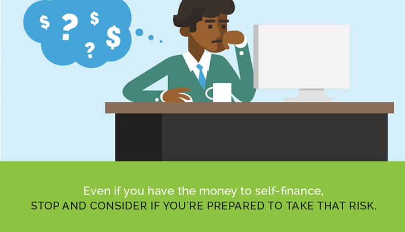 Forgoing franchise loans can leave you financially vulnerable.